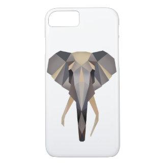 Polygon elephant iPhone 8/7 case