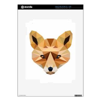Polygon Fox iPad 2 Decal