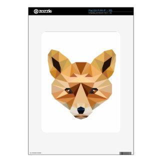 Polygon Fox iPad Skin