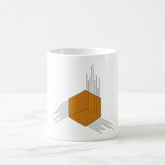 Polygon Hexagon Classic White Coffee Mug