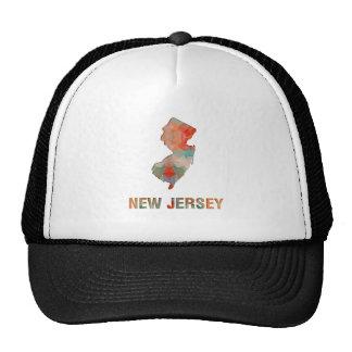 Polygon Mosaic State Map  NEW JERSEY Trucker Hat