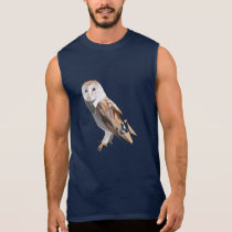 Polygon Owl for Owl Lovers Sleeveless Shirt
