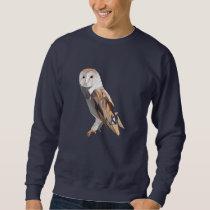 Polygon Owl for Owl Lovers Sweatshirt