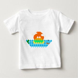 Polygon Paradise Baby T-Shirt