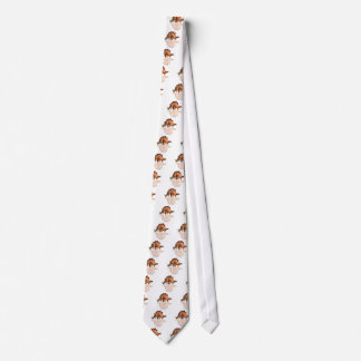 polygon trifishes graphic kind dinosaur tie