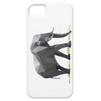 polygon trifishes graphic kind elephant iPhone SE/5/5s case
