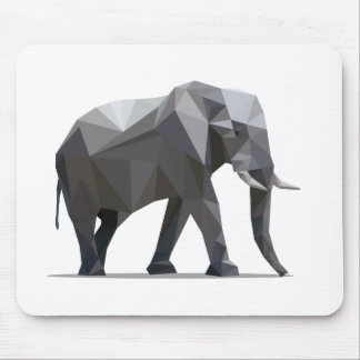 polygon trifishes graphic kind elephant mousepads