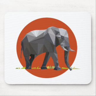 polygon trifishes graphic kind elephant mouse pads