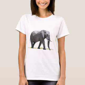 polygon trifishes graphic kind elephant T-Shirt