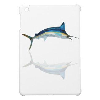 polygon trifishes graphic kind marlin iPad mini cases