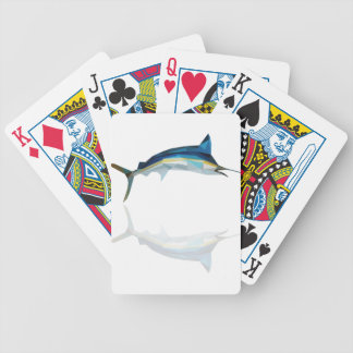 polygon trifishes graphic kind marlin poker deck
