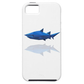 polygon trifishes graphic kind shark iPhone SE/5/5s case
