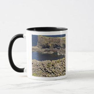 Polygonal basalt, Staffa, off Isle of Mull, Mug