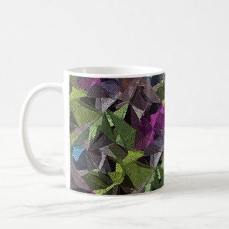 Polygonal Shiver Abstract Design Mug