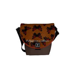Polygonia c-album courier bag