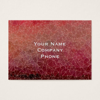 Polygons abstract business card