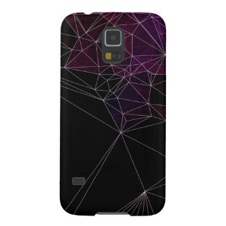 Polygons abstract galaxy s5 case