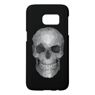 Polygons Skull black Samsung Galaxy S7 Case