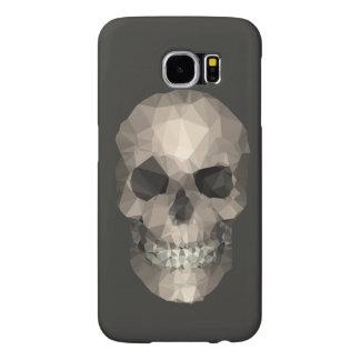 Polygons Skull Samsung Galaxy S6 Case