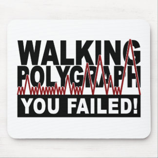Polygraph mousepad