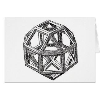 Polyhedra. Card