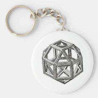 Polyhedra. Key Chain