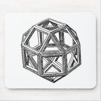 Polyhedra. Mouse Pad