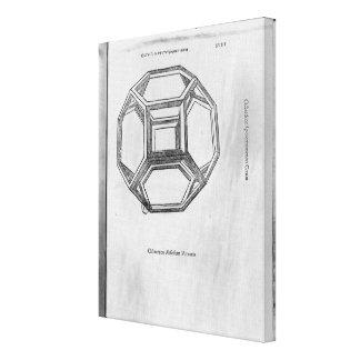 Polyhedron, from 'De Divina Proportione' Canvas Print