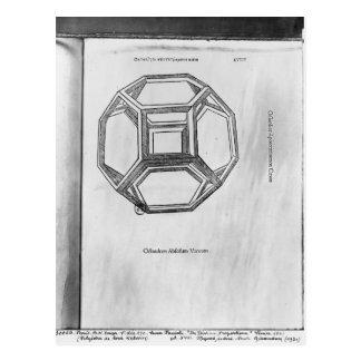 Polyhedron, from 'De Divina Proportione' Postcard