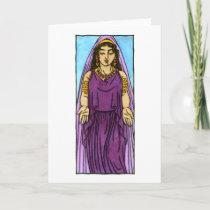 Polyhymnia Greeting Card
