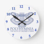 Polyhymnia Relojes De Pared