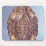 Polylobed elliptical reliquary mouse pad