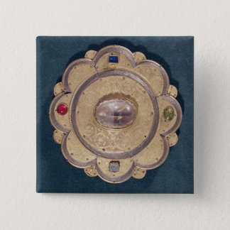 Polylobed reliquary, 13th century button
