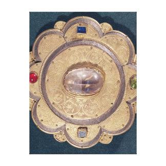 Polylobed reliquary, 13th century canvas print