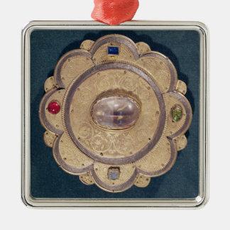 Polylobed reliquary, 13th century metal ornament
