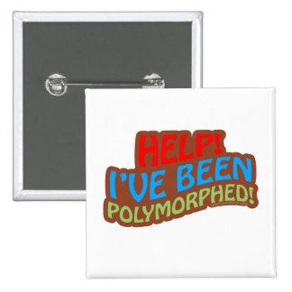 Polymorphed Pin Cuadrada 5 Cm