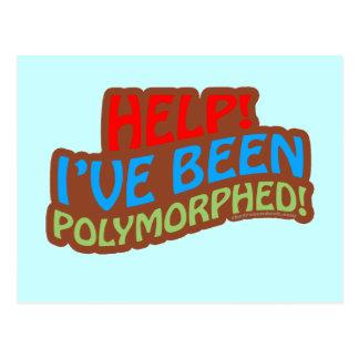 Polymorphed Tarjeta Postal