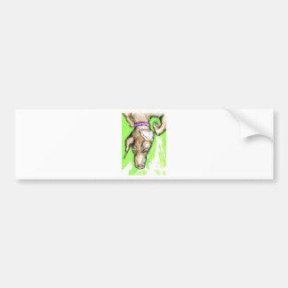 Polymorphic Canidae Nomine Sunday-Sundae Bumper Sticker