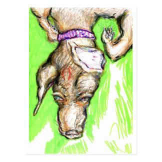 Polymorphic Canidae Nomine Sunday-Sundae Postcard
