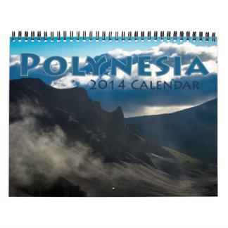 Polynesia 2014 calendars
