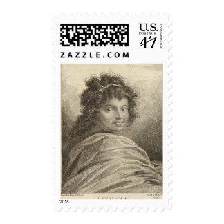 Polynesia 2 postage stamp