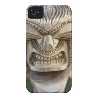 Polynesia, Kingdom of Tonga. Close-up of tiki Case-Mate iPhone 4 Cases
