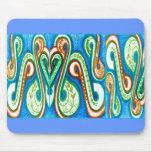 Polynesia Paisley Mousemat