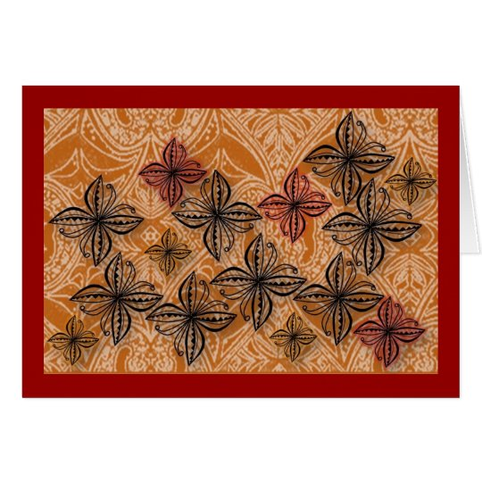 Polynesia Siale Hiapo Inspired Card