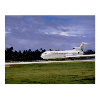 Polynesian Airlines, Rarotonga, Cook Islands Postcard