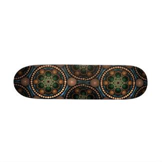 Polynesian Beaded Skate Board