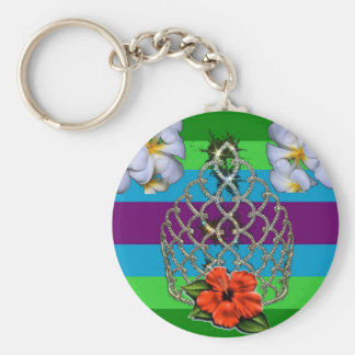 Polynesian Diva Pride Keychain