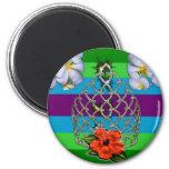 Polynesian Diva Pride Magnets