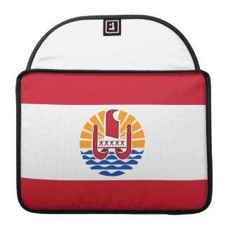 Polynesian Flag Sleeves For MacBook Pro