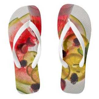 Polynesian Fruit Flops Flip Flops
